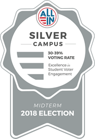 Silver Campus All In Badge