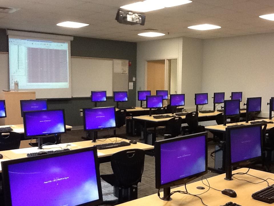 Computer Labs Mckendree University