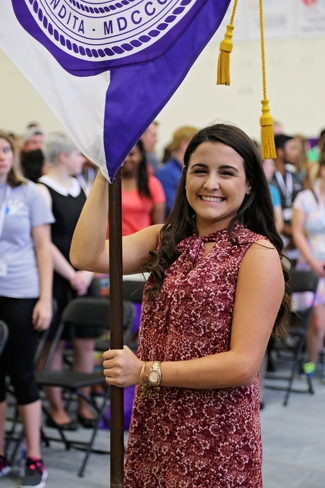 Photo of Student at Convocation
