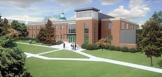 Rendering of Proposed Voigt Science Hall
