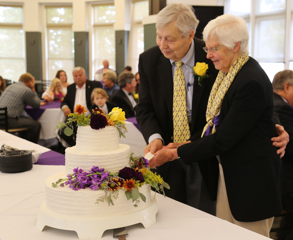 The Reverend Ralph Totten '53 and Jennie Lynn (Stein) Totten '52