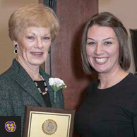 High Honor for Math Educator