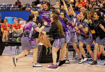 Women's Bowling After Victory