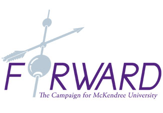 FORWARD: The Campaign for McKendree University Logo