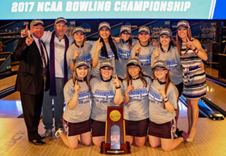 McKendree Women's Bowling Team