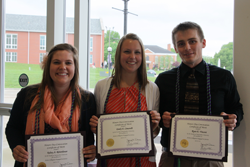 Active Collegians Engaged in Service (ACES) Award Winners