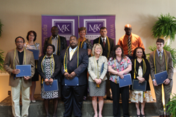 Phi Kappa Phi inductees at the Kentucky Honor Society Induction Ceremony