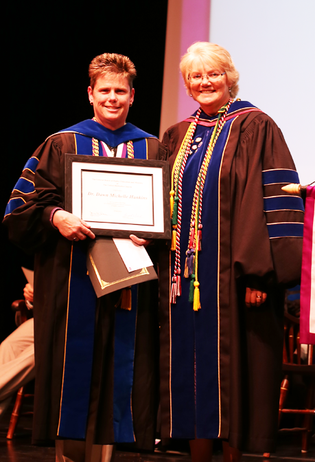 Photo of a Faculty Awardee