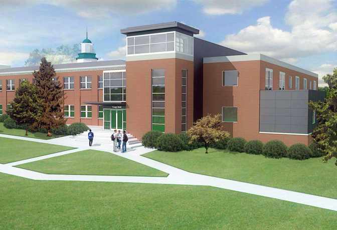 Photo of Science Hall Renovation