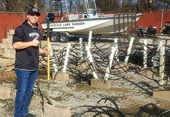 Bass Fishing Team Improves Lake Ecosystem for Future Generations of Anglers