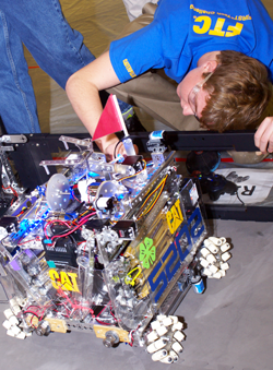 Photo of FIRST Robotics Competition