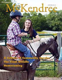 Cover of the The Magazine For McKendree, Winter 2013 Edition