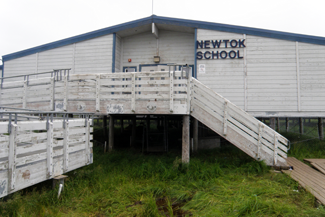 Photo of Newtok School