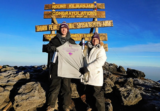 So, How Did You Spend Your Summer? They Climbed Mt. Kilimanjaro