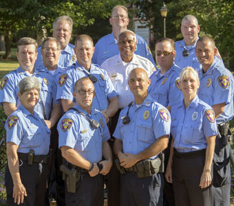 Group Photo of Public Safety