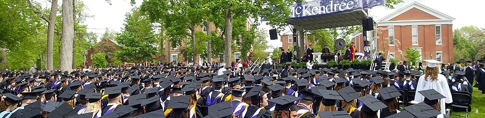 Photo of McKendree University Graduation Ceremony