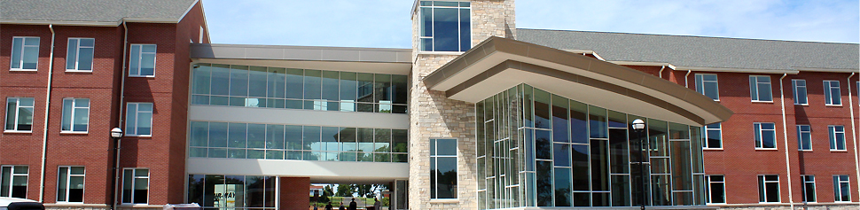 Exterior of New Residence Halls