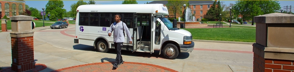 Photo of Student Using Bogey Bus