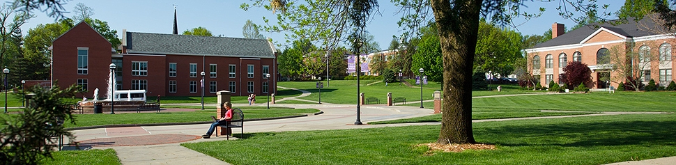 Photo of McKendree University Campus Quad