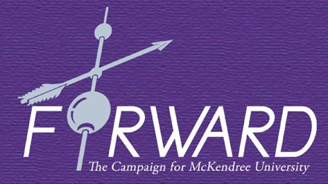 Logo of FORWARD: The Campain for McKendree University
