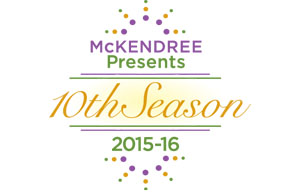 10th Season Logo for the Hettenhausen Center for the Arts