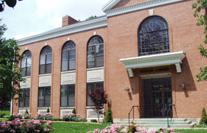 Exterior of Holman Library