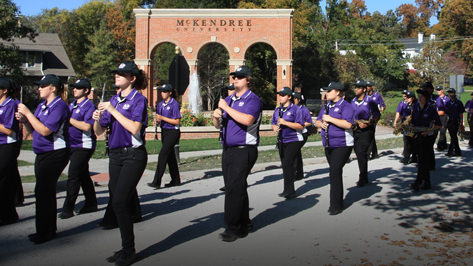 Photo of McKendree Marching Band