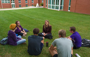 Outdoor Classroom in Front of Piper Academic Center