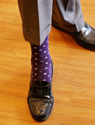 Photo of Purple Dress Socks