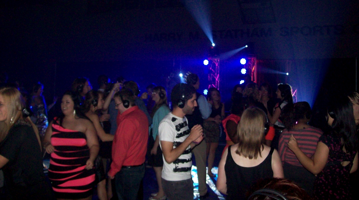 Photo of the Headphone Disco Glow Dance