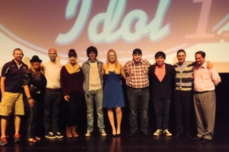 Photo of McKendree Idol 2014 Contestants and Judges