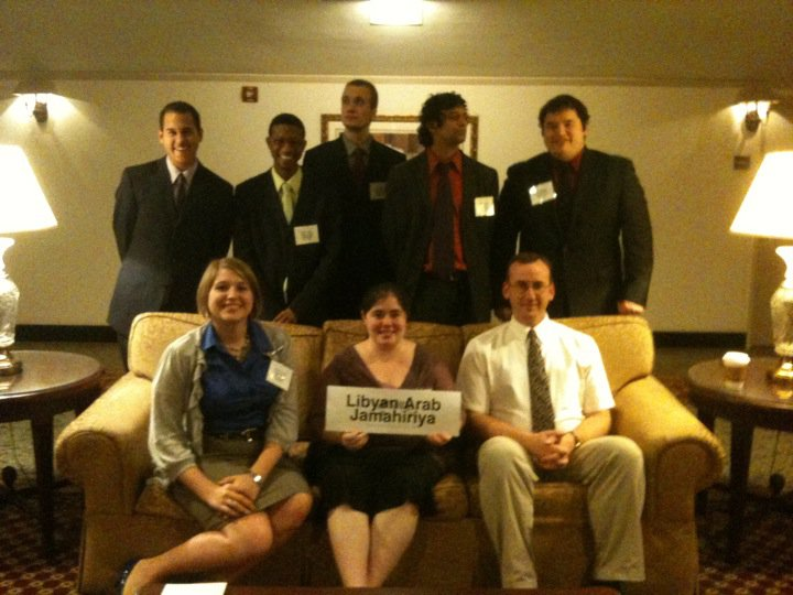 Photo of Libya Delegation, Fall 2010