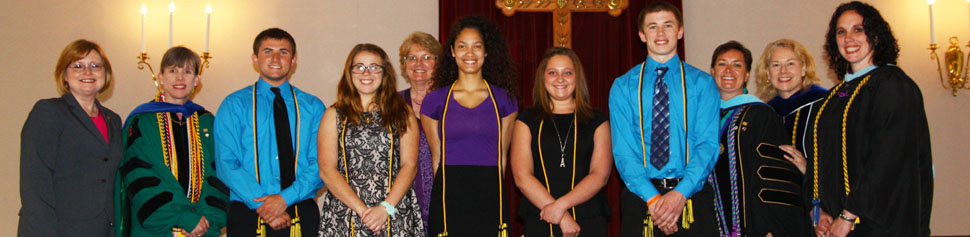 Group Photo of Phi Eta Sigma Inductees