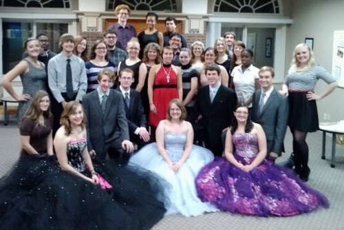 Group Photo from Activation Ceremony Fall 2013
