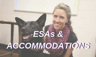 Information on ESAs & Accommodations