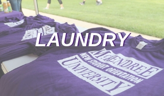 Information on Laundry