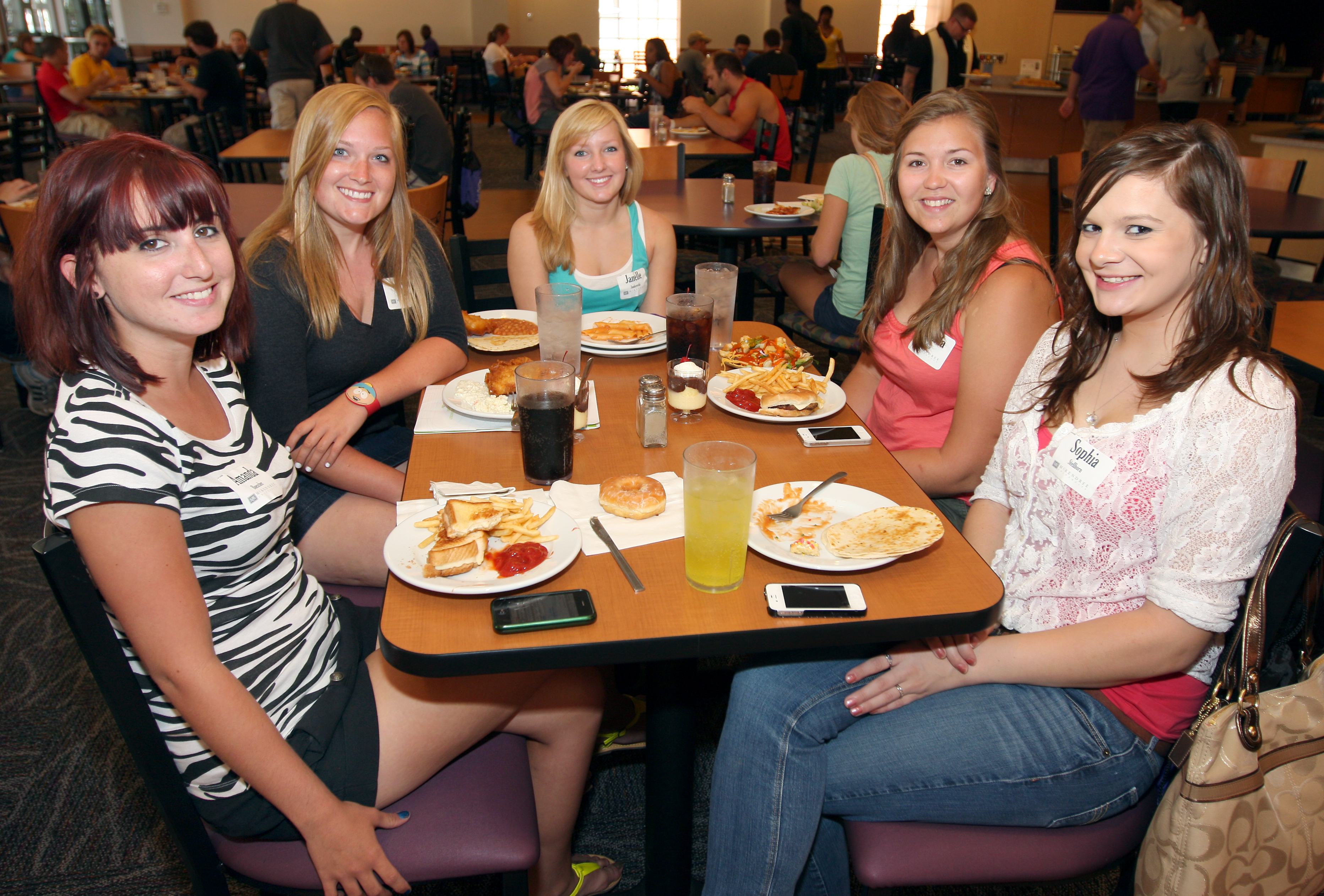 Photo of NSO Transfer Lunch