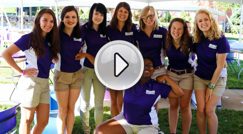 Play the New Student Orientation Video