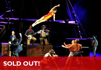Cirque Éloize: Saloon Video - SOLD OUT!
