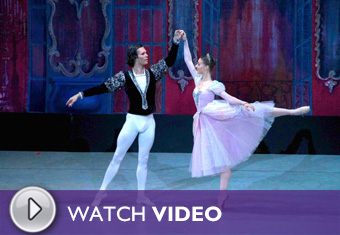 Play the Moscow Festival Ballet: Cinderella Video