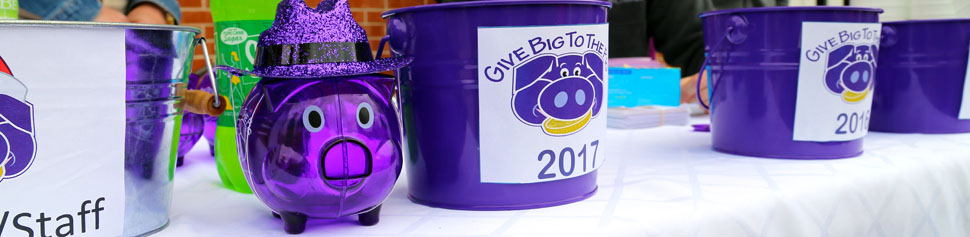 Piggy Bank Round-Up Event for Give Big to the Pig